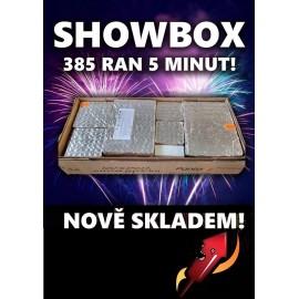 Ohňostroj Showbox  XII 385 výstřelů