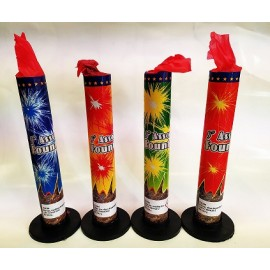 Pyrotechnika Assorted fountain 4ks