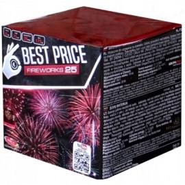 Pyrotechnika kompakt Best price 25 výstřelů 20mm