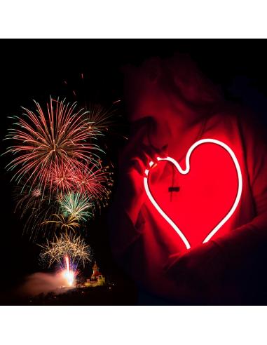 Tichý Valentýnský ohňostroj