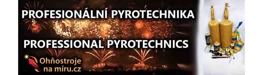 Profesionální pyrotechnika (prodej pouze na průkaz odpalovače ohňostrojů)